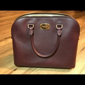 Plum Michael Kors Handbag